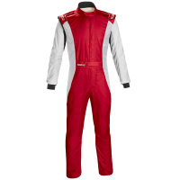 Safety Equipment - Sparco - Sparco Competition US Boot Cut Suit - Red/White