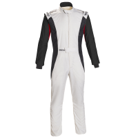 Safety Equipment - Sparco - Sparco Competition US Boot Cut Suit - White/Black