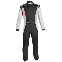 Safety Equipment - Sparco - Sparco Competition US Suit - Black/White
