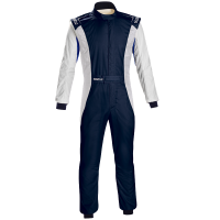 Safety Equipment - Sparco - Sparco Competition US Suit - Navy/White