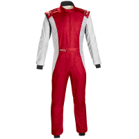 Safety Equipment - Sparco - Sparco Competition US Suit - Red/White