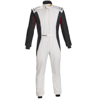 Safety Equipment - Sparco - Sparco Competition US Suit - White/Black