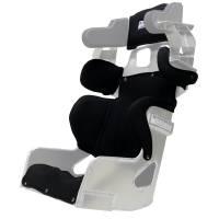 "Circle Track Seats - Ultra Shield VS Halo Seats - Ultra Shield Race Products - Ultra Shield Full Cover - Fits 16""  2019 Ultrashield VS Halo Seat- Black"