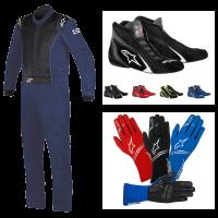 Alpinestars - Alpinestars Knoxville Suit Package - Navy/Black