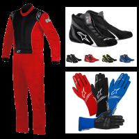 Alpinestars - Alpinestars Knoxville Suit Package - Red/Black