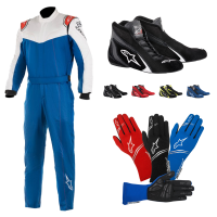 Racing Suits - Racing Suit Packages - Alpinestars - Alpinestars Stratos Suit Package - Royal Blue/White/Red