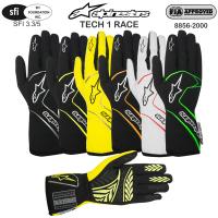 Alpinestars Tech 1 Race Gloves (optional)
