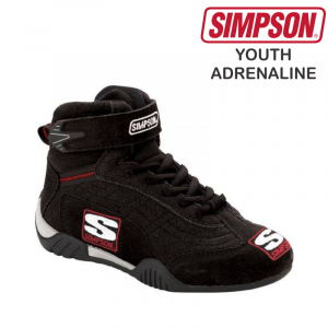 Racing Shoes - Shop All Auto Racing Shoes - Simpson Youth Adrenaline Shoes - $109.95