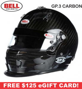 Bell GP.3 Carbon Helmets - SALE $849.95 - SAVE $150