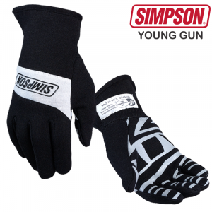 Racing Gloves - Shop All Auto Racing Gloves - Simpson Young Gun Youth - $79.95