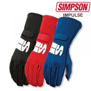 Racing Gloves - Shop All Auto Racing Gloves - Simpson Impulse - $99.95