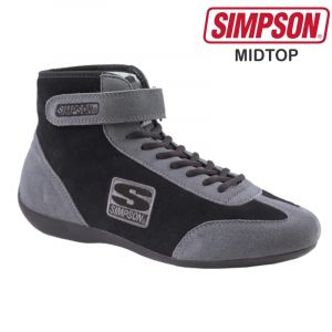 Racing Shoes - Shop All Auto Racing Shoes - Simpson Midtop - $99.95