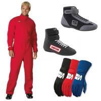Racing Suits - Race Suit Packages - Simpson Race Products - Simpson Super Sport Suit Package - Red
