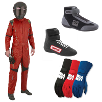 Racing Suits - Racing Suit Packages - Simpson Race Products - Simpson DNA Suit Package - Red