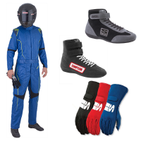 Racing Suits - Racing Suit Packages - Simpson Race Products - Simpson DNA Suit Package - Blue