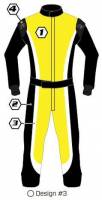 Safety Equipment - K1 RaceGear - K1 Race Gear Custom Suit - Design #3
