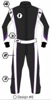 Safety Equipment - K1 RaceGear - K1 Race Gear Custom Suit - Design #6