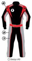 K1 RaceGear Suits - K1 RaceGear Custom Suit - $1199.99 - K1 RaceGear - K1 Race Gear Custom Suit - Design #9