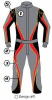 Safety Equipment - K1 RaceGear - K1 Race Gear Custom Suit - Design #11