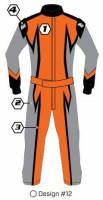 Safety Equipment - K1 RaceGear - K1 Race Gear Custom Suit - Design #12