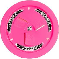 Wheels and Tire Accessories - Dirt Defender Racing Products - Dirt Defender Quick Release Fastener Mud Cover Vented Cover Only Plastic - Fluorescent Pink