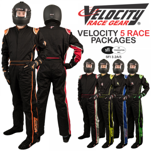 Velocity 5 Race Suit Packages from $419.97