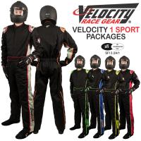 Velocity 1 Sport Suit Packages - Black/Blue 10118PKG