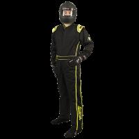 Velocity 1 Sport Suit - Black/Fluo Yellow 10118-15
