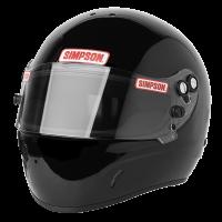 Simpson DR 2 Helmet 684 - Black