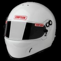 Simpson DR 2 Helmet 684 - White