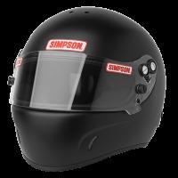 Simpson DR 2 Helmet 684 - Flat Black