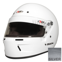 Safety Equipment - B2 Helmets - B2 Vision Helmet - Metallic Silver