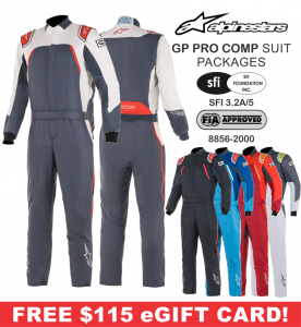 Alpinestars GP Pro Comp Suit Packages from $1134.85