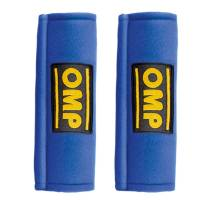 "Restraint Parts & Accessories - Harness Pads - OMP Racing - OMP Harness Pads - Blue - For 2"" Belts"