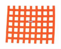 "Ribbon Window Nets - 18"" x 24"" Ribbon Window Nets - RaceQuip - RaceQuip Ribbon Window Net - Orange - 18"" x 24"" - Non-SFI"