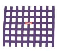 """Window Nets - Ribbon Window Nets - RaceQuip - RaceQuip Ribbon Window Net - Purple - 18"""" x 24"""" - Non-SFI"""