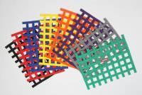 "Window Nets - Ribbon Window Nets - RaceQuip - RaceQuip Ribbon Window Net - Platinum - 18"" x 24"" - Non-SFI"