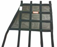 "Safety Equipment - Window Nets - RaceQuip - RaceQuip Hybrid Angle Front Window Net - 18"" x 18"" w/ Angle Front"