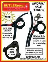 "ButlerBuilt Motorsports Equipment - ButlerBuilt King Pin To King Pin Tether System - 50"" Axle - Image 2"