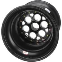 "Weld Magnum Sprint Spline Wheels - Weld Magnum Sprint Spline 15"" x 15"" - Weld Racing - Weld Magnum Sprint Spline Wheel - 15"" x 15""  - All Black - 42 Spline - 7"" Back Spacing - Inner Bead-loc"