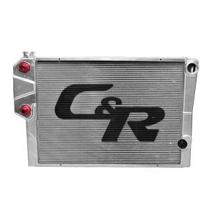 C&R Racing Universal Double Pass Radiators w/ Heat Exchanger