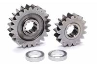 Sprint Car & Open Wheel - C&R Racing - C&R Racing Quick Change Gear Set - Contour Performance - 1.355 Spur Ratio - Set 10 - 10 Spline - 4.11 Ratios 5.57 / 3.05 - 4.86 Ratios 6.57 / 3.59 - Steel