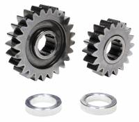 CLEARANCE SALE! - Drivetrain - Clearance - C&R Racing - C&R Racing Quick Change Gear Set - Contour Performance - 1.333 Spur Ratio - Set 16 - 10 Spline - 4.11 Ratios 5.48 / 3.08 - 4.86 Ratios 6.48 / 3.65 - Steel