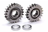 Sprint Car & Open Wheel - C&R Racing - C&R Racing Quick Change Gear Set - Contour Performance - 1.078 Spur Ratio - Set 26 - 10 Spline - 4.11 Ratios 4.43 / 3.84 - 4.86 Ratios 5.22 / 4.53 - Steel