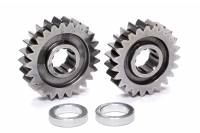 Sprint Car & Open Wheel - C&R Racing - C&R Racing Quick Change Gear Set - Contour Performance - 1.085 Spur Ratio - Set 6 - 10 Spline - 4.11 Ratios 4.46 / 3.78 - 4.86 Ratios 5.28 / 4.47 - Steel