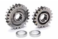 Sprint Car & Open Wheel - C&R Racing - C&R Racing Quick Change Gear Set - Contour Performance - 1.214 Spur Ratio - Set 9 - 10 Spline - 4.11 Ratios 4.99 / 3.40 - 4.86 Ratios 5.88 / 4.02 - Steel