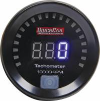 Digital Gauges - Digital Tachometers - QuickCar Racing Products - QuickCar Digital Tachometer 2-1/16in