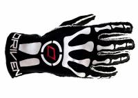 Driven Steering Wheels - Driven Nomex Gloves - Red/Black -Large