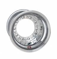 "Weld Wide 5 XL Beadlock Wheels - Weld Wide 5 XL Beadlock 15"" x 14"" - Weld Racing - Weld XL Wide 5 Wheel - 15' x 14"" - 3"" Back Spacing - Aluminum - Polished - Outer Bead-Loc"