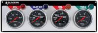 Analog Gauge Panels - 4 Gauge Dash Panels - Allstar Performance - Allstar Performance Performance 4 Gauge Panel - Auto Meter Sport Comp - OP/WT/OT/FP